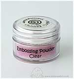 Cosmic Shimmer Embossing Powder - Clear (20ml)