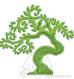 Spellbinders Shapeabilities Dies D-Lites - Bonsai Tree