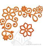 Spellbinders Shapeabilities Dies D-Lites - Floral Corner One