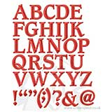 Spellbinders Shapeabilities - Font One Uppercase