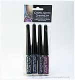 Cosmic Shimmer Drawing Ink Set 5 - Shades Vintage