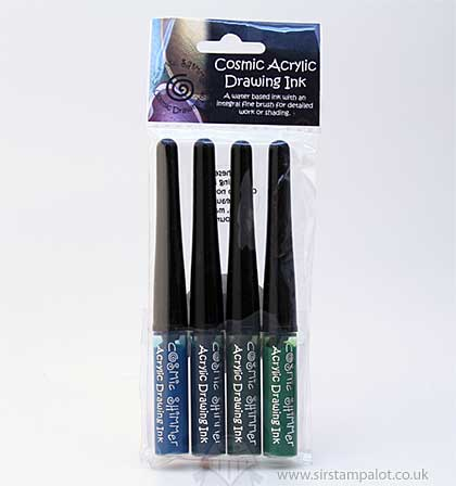 Cosmic Shimmer Drawing Ink Set - Garden Twist