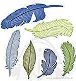 SO: Spellbinders Shapeabilities - Feathers