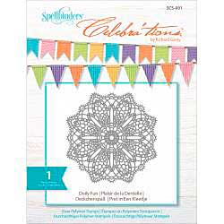 Celebrations Stamps 4x6 - Doily Fun