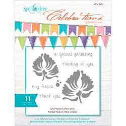 Celebrations Stamps 4x6 11pk - My Friend