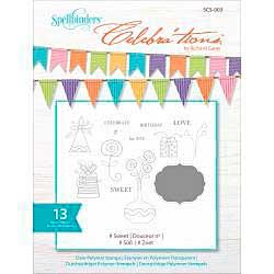 Celebrations Stamps 4x6 13pk - #Sweet
