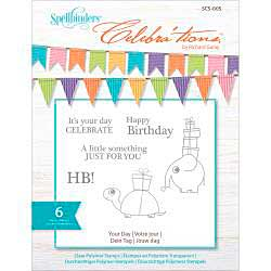 Celebrations Stamps 4x6 6pk - Your Day