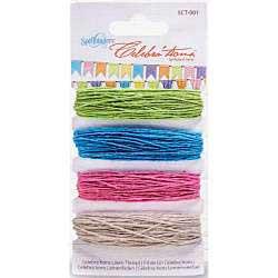 Celebrations Linen Thread - 4 Colors