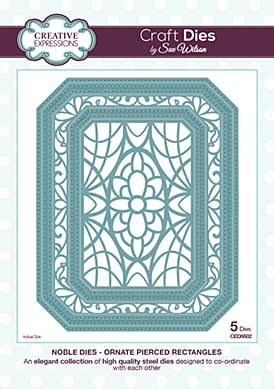 Sue Wilson - Noble Collection Ornate Pierced Rectangles
