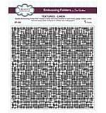 SO: Embossing Folders 8x8 - Textures Linen