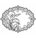 SO: PRE: Sue Wilson 15A Stamp - Elegant Lilies