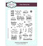 Clear Stamp Sets - Santas Sentiments