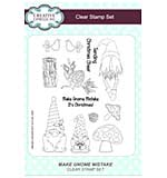 SO: Make Gnome Mistake A5 Clear Stamp Set
