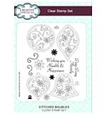 SO: Stitched Baubles A5 Clear Stamp Set