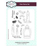 Candlelit Christmas A5 Clear Stamp Set