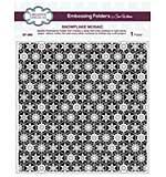 Emboss Folder 8 x 8 Snowflake Mosaic
