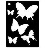 Mini Stencil - Butterfly Splash
