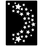 Mini Stencil - Star Flourish