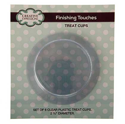 Treat Cups 6pk - for Snow Globe Shaker Card (works with CED3079)