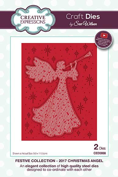 SO: Sue Wilson Festive Collection - 2017 Christmas Angel