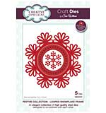 SO: Sue Wilson Festive Collection - Looped Snowflake Frame