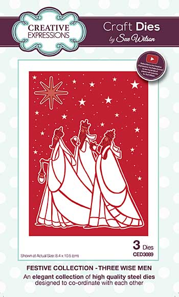 SO: Sue Wilson Festive Collection - Three Wise Men