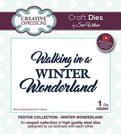 SO: Sue Wilson Festive Collection - Winter Wonderland