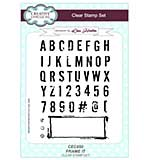 Frame It A5 Clear Stamp Set
