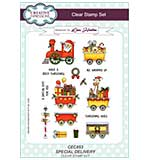 Special Delivery A5 Clear Stamp Set