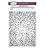 SO: Emboss Folder Shimmering Stars (5.75 x 7.5)