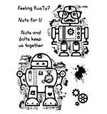 Woodware Clear Singles - Rusty Robots [WW1801]