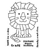 SO: Woodware Clear Singles - Raggy Lion [WW1801]