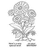 Woodware Clear Magic - Daisy Delight [WW1801]