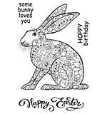 SO: Woodware Clear Magic - Decorative Hare [WW1801]