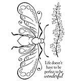SO: Woodware Clear Magic - Decorative Bee [WW1801]
