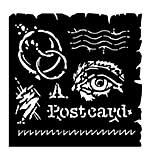 SO: Woodware Stencil - Postcard [WW1801]