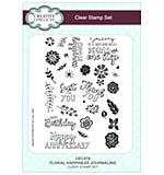 SO: Floral Happiness Journaling A5 Clear Stamp Set
