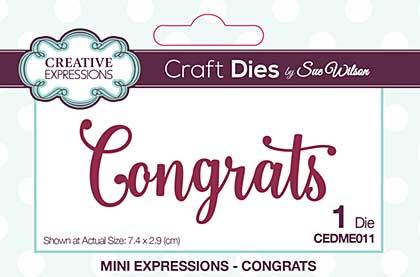 SO: Mini Expressions Congrats