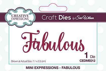 SO: Mini Expressions Fabulous