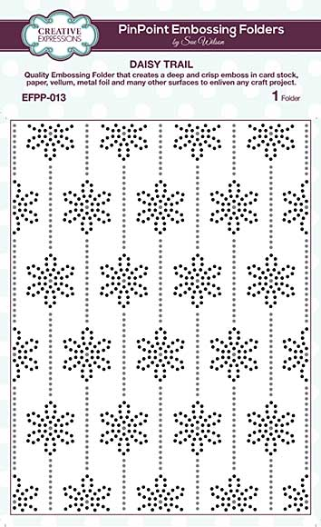 SO: PinPoint Embossing Folder - Daisy Trail