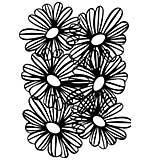 Creative Expressions A5 Stencil Gorgeous Gerbera