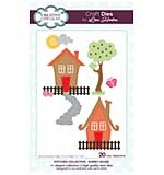 SO: Stitched Collection Quirky House Craft Die