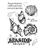 SO: Woodware Clear Singles Stamp - Seashells [WW1804]