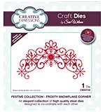 SO: Sue Wilson Festive Collection Frosty Snowflake Corner [SW1806]