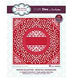 Sue Wilson Festive Collection Snow Fall Background [SW1806]