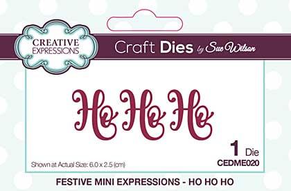 SO: Sue Wilson Festive Collection Ho Ho Ho [SW1806]