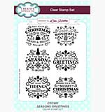 SO: Lisa Horton Clear Stamp Set - Seasons Greetings