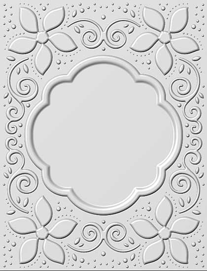 SO: 3D Embossing Folder - Natalies Poinsettias by Sue Wilson