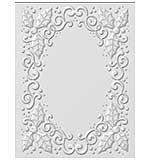 SO: 3D Embossing Folder - Holly Swirls by Sue Wilson
