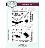 Lisa Horton Clear Stamp Set A5 - Creative Art